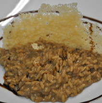Risotto all'aceto balsamico tradizionale